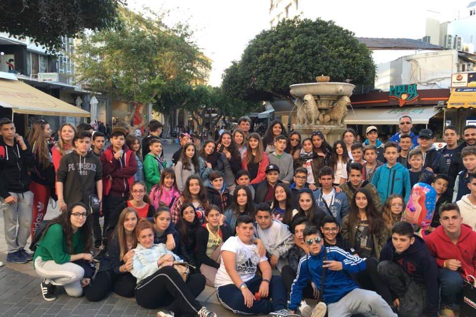 Πενθήμερη εκδρομή του Γυμνασίου στην Κρήτη