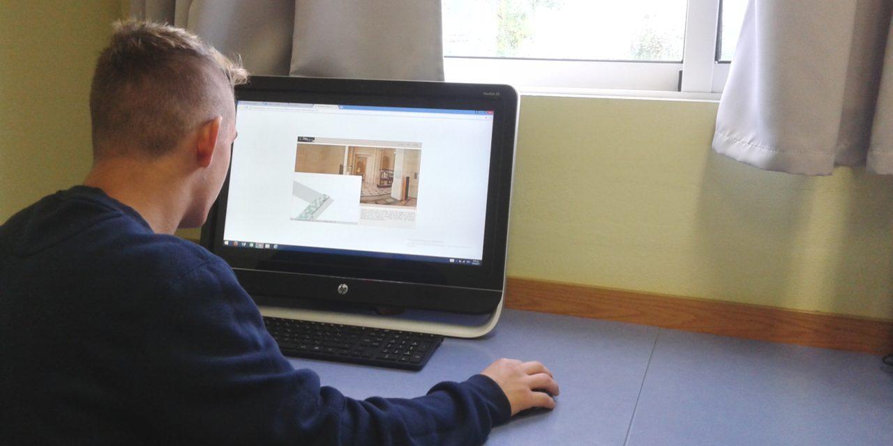 Διαδραστική επίσκεψη της Β' Γυμνασίου στο Μουσείο του Λούβρου