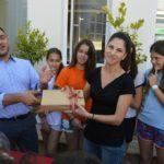 Η νικήτρια του tablet στην κλήρωση της RestPointPergola Card