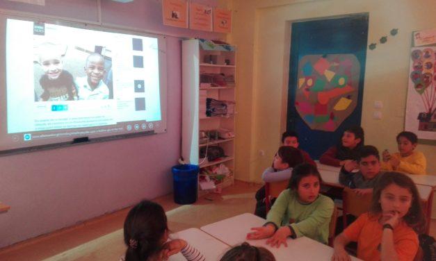 Συνεργασία της Γ' Δημοτικού σε κοινό γαλλο-γερμανικό μάθημα
