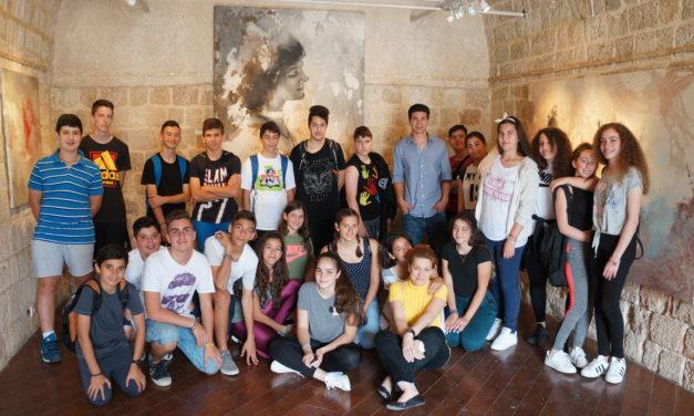 Εξόρμηση της Β' Γυμνασίου στη Μεσαιωνική Πόλη