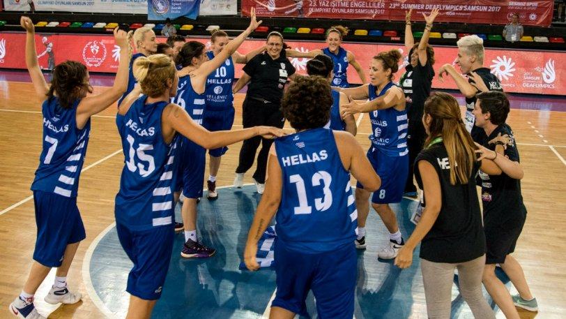 «Χρυσή» η Μελλίνη με την Εθνική στους Deaflympics!