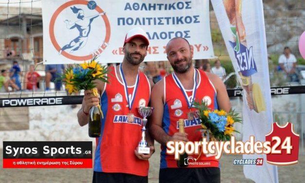 Στην 3η θέση οι Αρβανίτης-Μακρής!