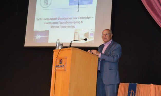 Ομιλία του σεισμολόγου, κ. Παπαδόπουλου στο «ΡΟΔΙΩΝ ΠΑΙΔΕΙΑ»