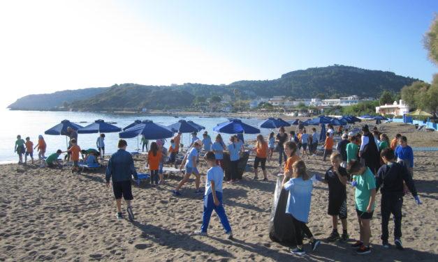 Ενεργή συμμετοχή του Δημοτικού μας στο Μήνα Δράσης για το Θαλάσσιο Περιβάλλον