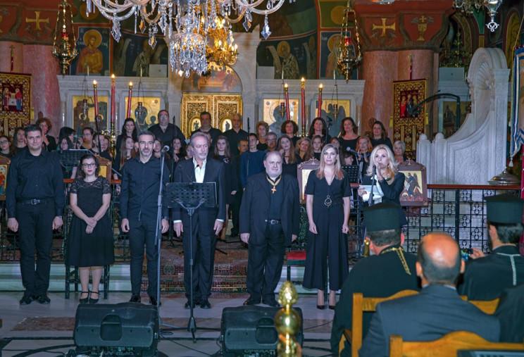Μοναδική μουσική απόλαυση το ορατόριο για τον Άγιο Νεομάρτυρα Κωνσταντίνο τον Υδραίο