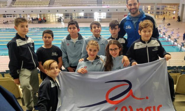 Συμμετοχή του «ΡΟΔΙΩΝ άθλησις» σε αγώνες κολύμβησης στο Ο.Α.Κ.Α.