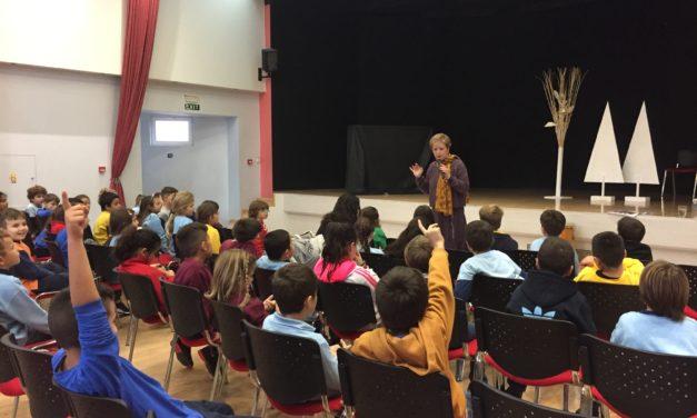 Επίσκεψη της κυρίας Βασιλικής Νευροκοπλή στα Εκπαιδευτήριά μας