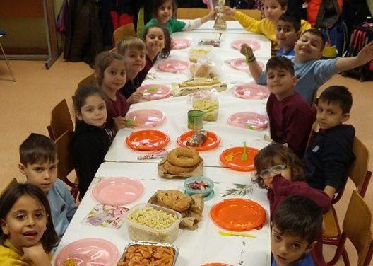 Σαρακοστιανό τραπέζι στο Σχολείο μας