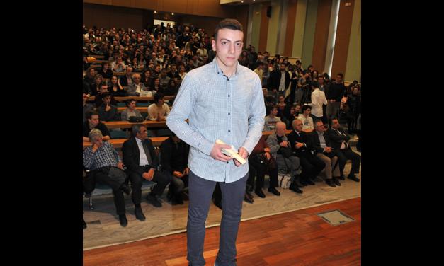 Ο Νίκος Σκουμιός, μαθητής των Εκπαιδευτηρίων «ΡΟΔΙΩΝ ΠΑΙΔΕΙΑ», κατέκτησε χάλκινο μετάλλιο στη «Μεσογειάδα Μαθηματικών 2018»