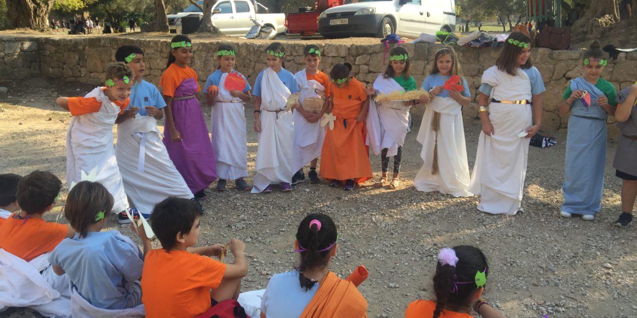 Η Γ' Δημοτικού «ταξιδεύει» στην αρχαία Ελλάδα