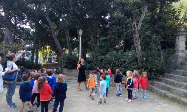 Εξερευνώντας το πάρκο του Ροδινιού