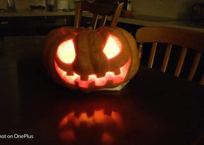 Pumpkin lit