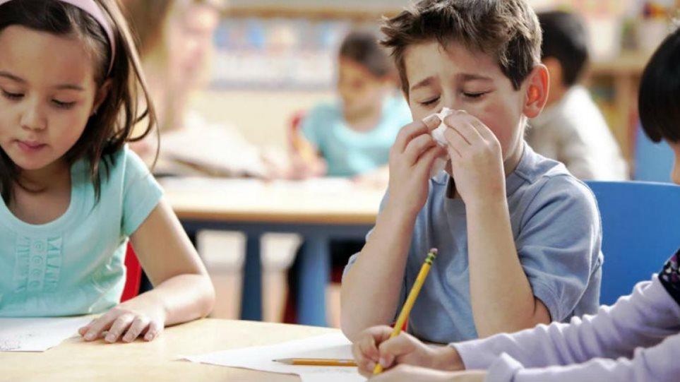 Τι πρέπει να κάνουν οι μαθητές για την πρόληψη της εξάπλωσης της εποχικής γρίπης;