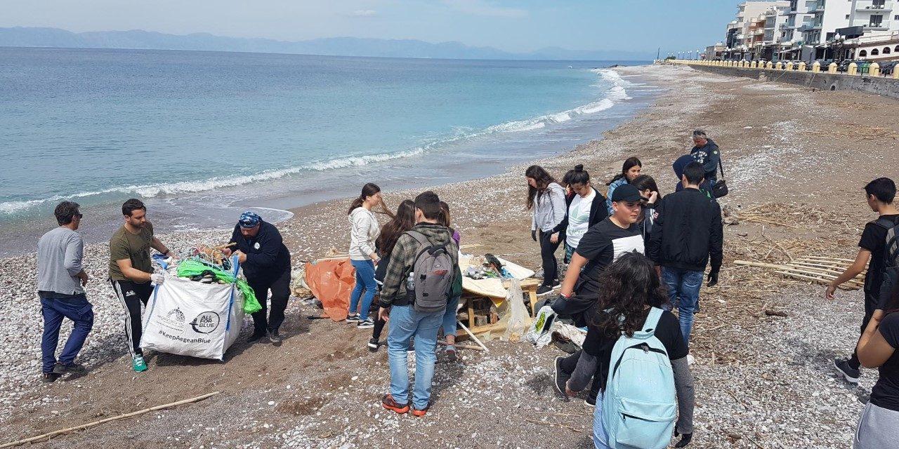 """Συμμετοχή της Α' Λυκείου στο εκπαιδευτικό πρόγραμμα """"Keep Aegean Blue"""""""