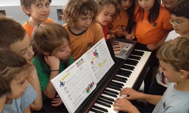 Η παρουσίαση των μικρών μουσικών