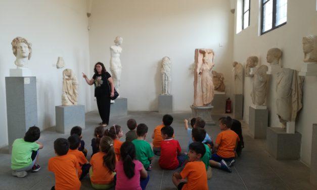 Επίσκεψη του Νηπιαγωγείου στο Αρχαιολογικό Μουσείο
