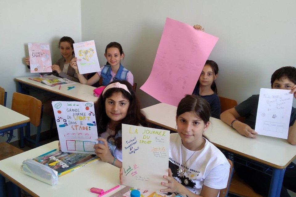 Τα projects των μαθητών μας στα Γαλλικά