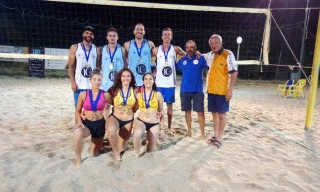 Αμορανίτη,Αρβανίτης και Παππάς στο 2ο Πανδωδεκανησιακό Τουρνουά beach volley 2019!