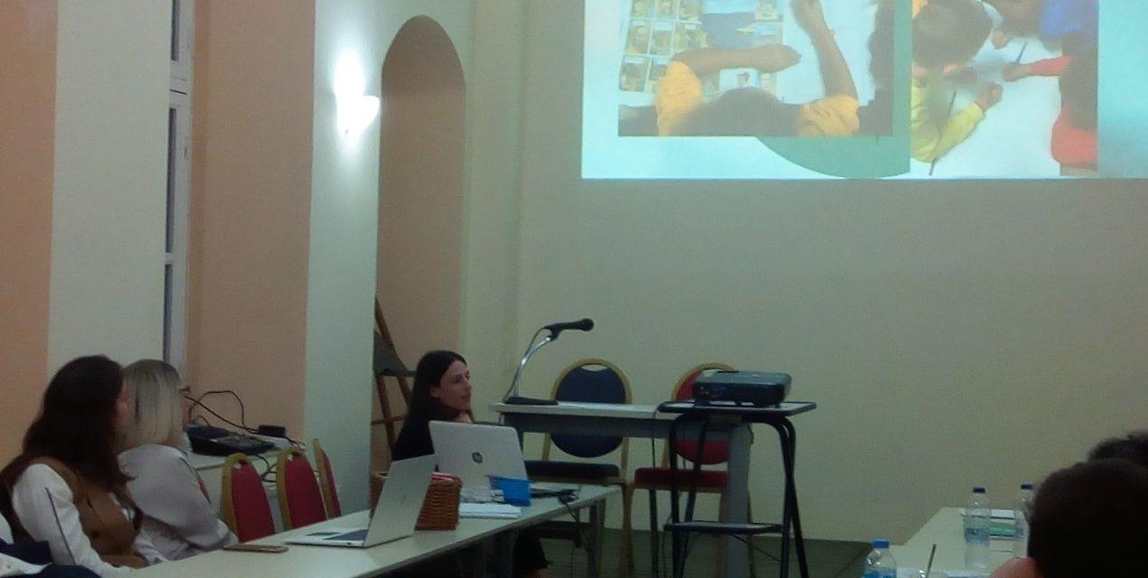 Συμμετοχή της Θεοδώρας Κυπριώτη, εκπαιδευτικού των Εκπαιδευτηρίων «ΡΟΔΙΩΝ ΠΑΙΔΕΙΑ», στην εκδήλωση «Διασκευάζω την ιστορία σε κόμικς»