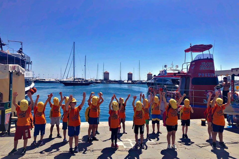 Οι ομάδες του Summer School σαλπάρουν με το «Ποσειδών»!