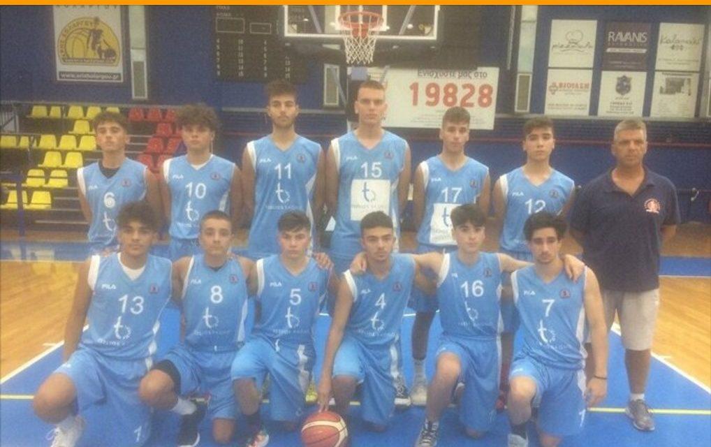Διάκριση του Κοσμά Παπαγεωργίου, μαθητή των Εκπαιδευτηρίων «ΡΟΔΙΩΝ ΠΑΙΔΕΙΑ», με την παιδική ομάδα μπάσκετ του Κολοσσού