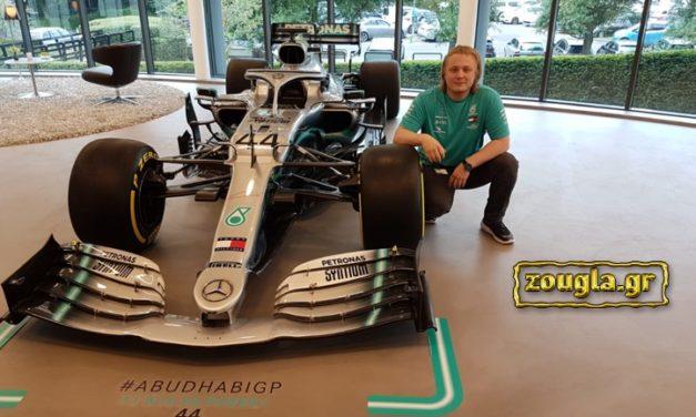 Μιχάλης Χαλκιόπουλος: Ένας ακόμη Έλληνας στη Formula 1 (Mercedes)!