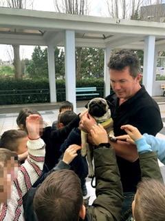 Επίσκεψη του Εκπαιδευτή Θετικής Εκπαίδευσης σκύλων και συνεργάτη της ΠΦΠΟ Jon Garstang στα Εκπαιδευτήρια «ΡΟΔΙΩΝ ΠΑΙΔΕΙΑ»
