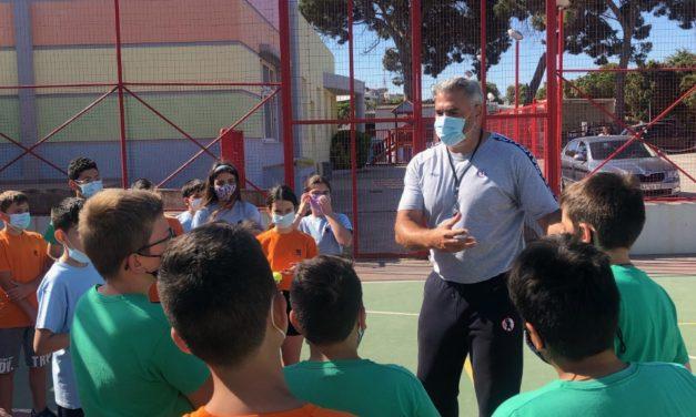 Μαθαίνοντας τα ολυμπιακά ιδεώδη από τον Ολυμπιονίκη Γιώργο Σιγάλα