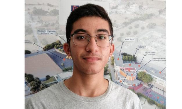 Ο μαθητής των Εκπαιδευτηρίων «ΡΟΔΙΩΝ ΠΑΙΔΕΙΑ» Στέφανος Πουλάκης-Στεφανίδης στην 3η Βαλκανική Ολυμπιάδα Φυσικής